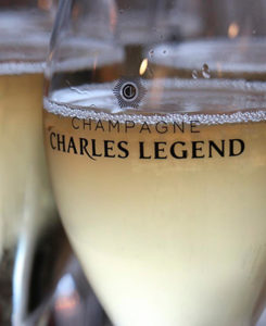Charles Legend Champagne glass
